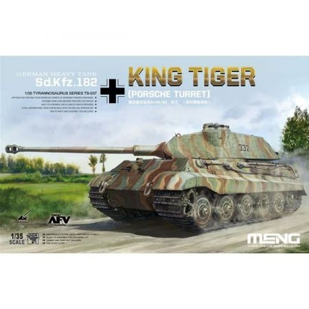 MENG TS037 German Heavy Tank Sd.Kfz.182 King Tiger (Porsche Turret)