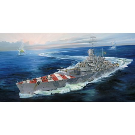 TRUMPETER 05777 Italian Navy Battleship RN Roma 1943