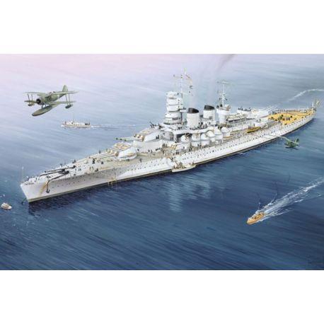 TRUMPETER 05779 Italian Navy Battleship RN Vittorio Veneto 1940