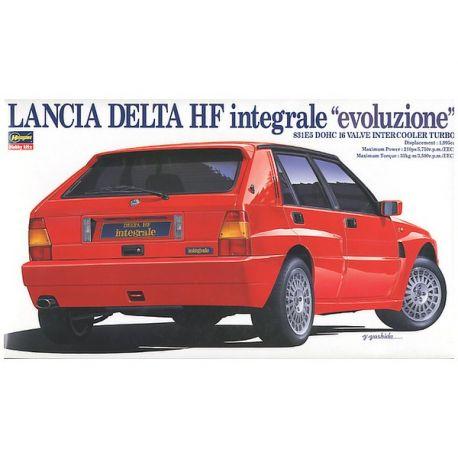 HASEGAWA CD9 Lancia Delta HF Integrale Evoluzione Limited Edition scala 1/24