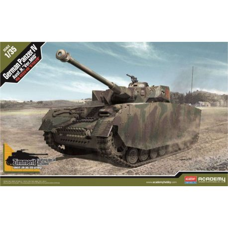 Academy 13516 German Panzer IV Ausf. H. Ver. MID