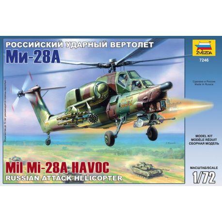 Zvezda 7246 MIL Mi-28A Havoc attack helicopter 1/72