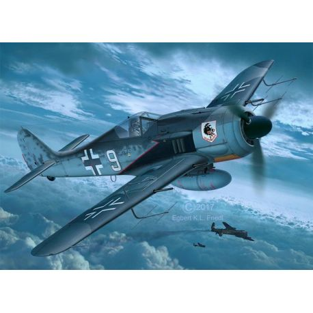 REVELL 03926 Focke Wulf Fw190A-8, A-8/R11 Nightfighter