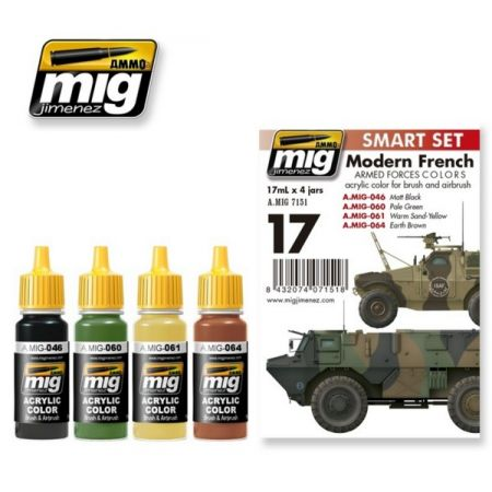 AMMO of Mig A.MIG 7151 Modern French Armed Forces Colors Set