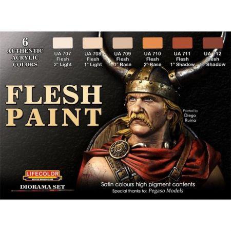 LifeColor CS13 Flesh Paint Set