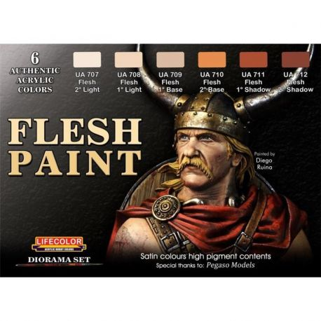 LifeColor CS13 Flesh Paint Set
