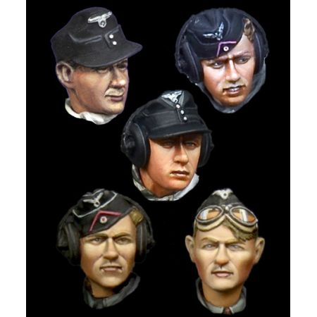 H022 German Panzer Crew Head Set 2