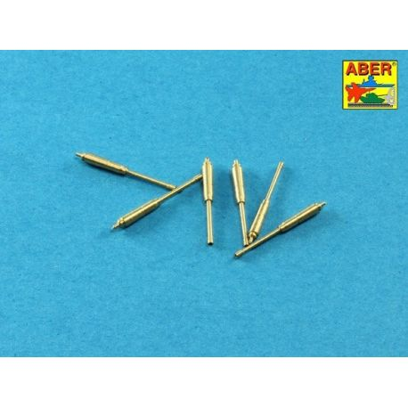 ABER 35 L-221 CANNE Set of barrels for US M16A1 or M231 5,56mm gun barrels x 6 pcs.