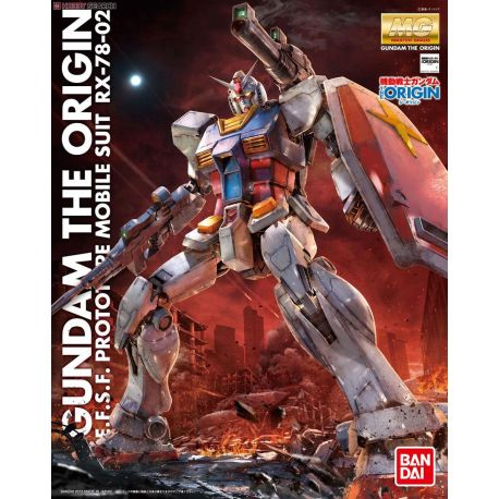 BANDAI 28566 MG GUNDAM THE ORIGIN E.F.S.F. PROTOTYPE MOBILE SUIT RX-78-02
