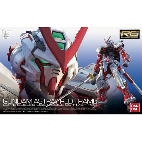 BANDAI 8030 RG Gundam Astray Red Frame 1/144