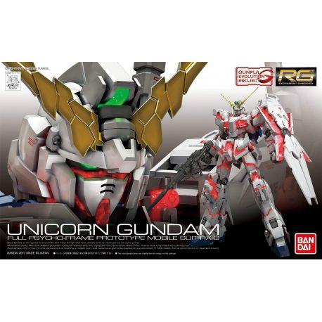 BANDAI 56623 RG UC Gundam Real Grade Unicorn 1/144