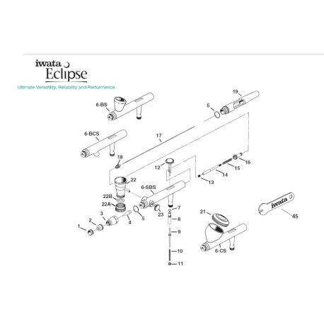 IWATA ECLIPSE I1702 NEEDLE SPRING GUIDE