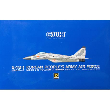 Great Wall Hobbies S4811 MiG-29 9-13 Fulcrum C