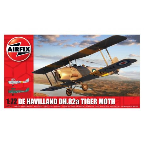 Airfix A02106 De Havilland DH.82a Tiger Moth 1:72
