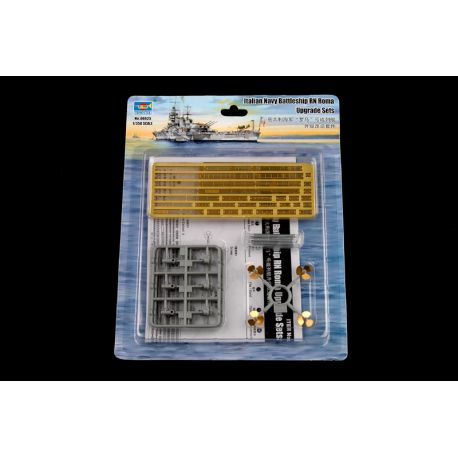 Trumpeter 06625 Italian Navy Battleship RN Roma Upgrade Sets