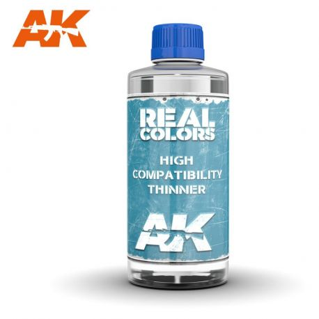 AK INTERACTIVE REAL COLORS THINNER 400ML.