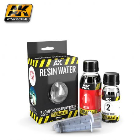 AK-Interactive AK8044 Resin Water 2 components Epoxy Resin