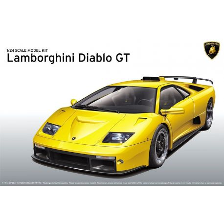 AOSHIMA 10501 Lamborghini Diablo GT 1/24
