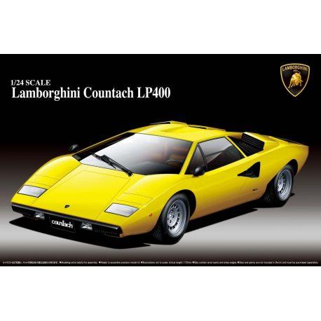 Aoshima 46708 Lamborghini Countach LP400 1/24