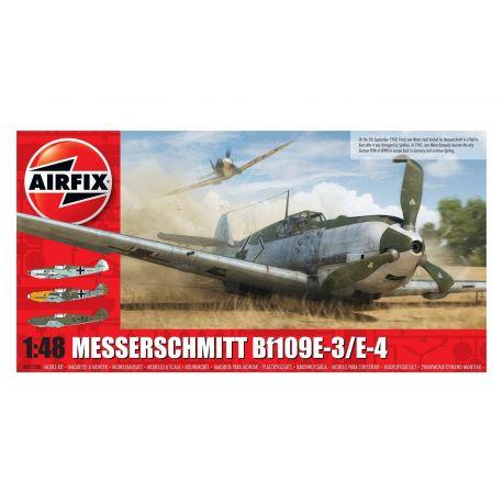 AIRFIX A05120B Messerschmitt Bf109E-3/E-4 1:48