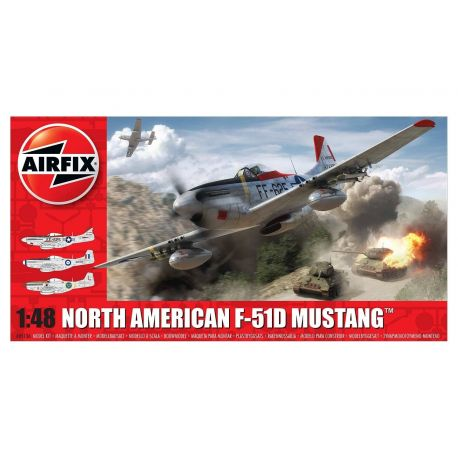 AIRFIX A05136 North American F-51D Mustang™ 1:48