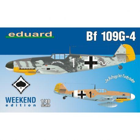 Eduard 84149 Messerschmitt Bf 109 G-4- 1/48