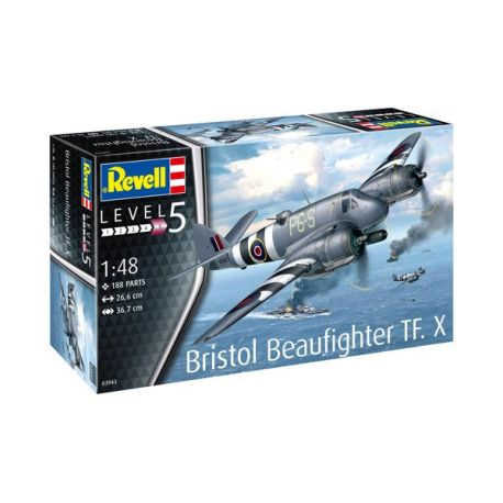 REVELL 03943 BRISTOL BEAUFIGHTER TF.X 1/48