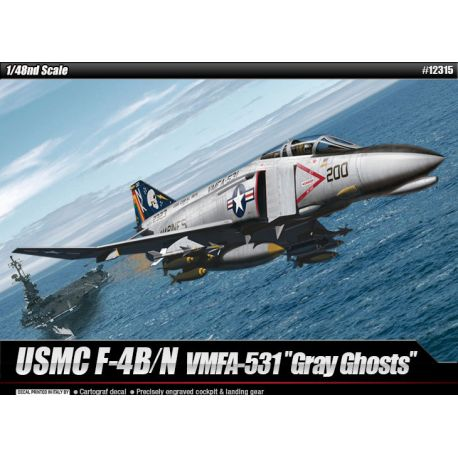 "Academy 12315 USMC F-4B/N VMFA-531 ""Gray Ghosts"""