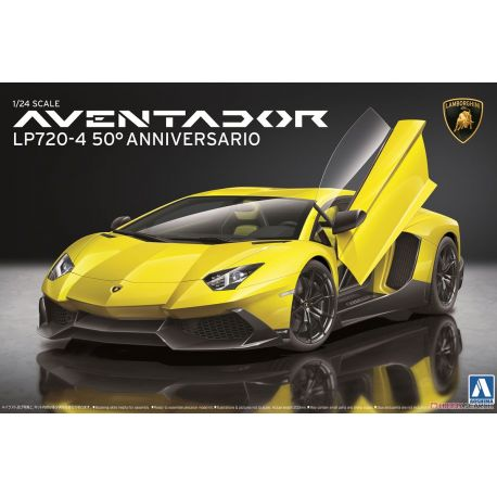 AOSHIMA 011522 Lamborghini Aventador LP720-4 50 Anniversario Edition
