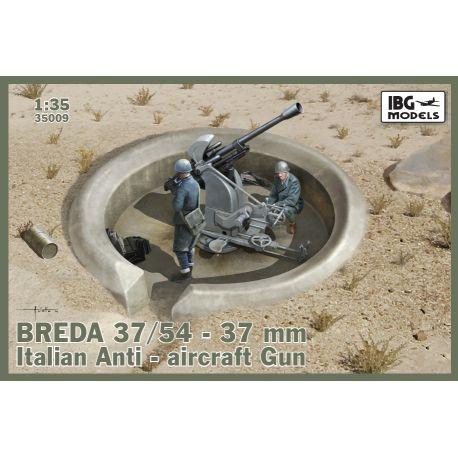 IBG MODELS 35009 Breda 37/54 37mm Italian Anti-aircraft Gun