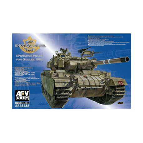 AFV CLUB 35281 IDF SHOT KAL GIMEL TYPE II