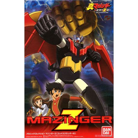 BANDAI MC MECHACOLLE 2070213 MAZINGER Z WITH GOD SCRANDER