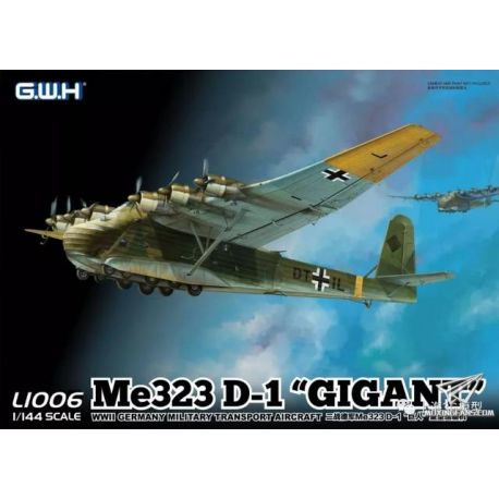 "Great Wall Hobby L1008 Me 323 D-1 ""GIGANT"" 1/144"