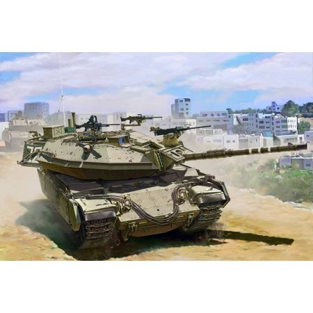 MENG MODEL TS040 Israel Main Battle Tank Magach 6B Gal Batash