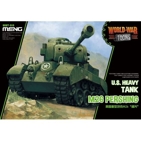 Meng Model WWT010 World War Toons WWT010 U.S.Heavy Tank M26 Pershing