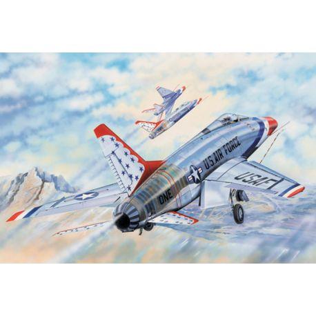 Trumpeter 03222 F-100D Thunderbirds 1/32