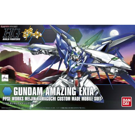 BANDAI 37657 HGBF GUNDAM EXIA AMAZING 1/144 HIGH GRADE BUILD FIGHTER
