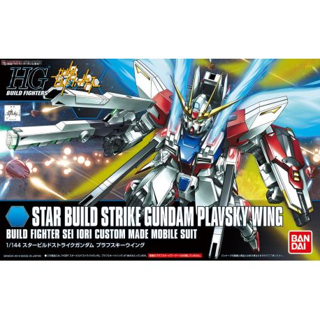 BANDAI 43933 HGBF 009 STAR BUILD STRIKE GUNDAM PLAVSKY WING 1/144 HIGH GRADE BUILD FIGHTER