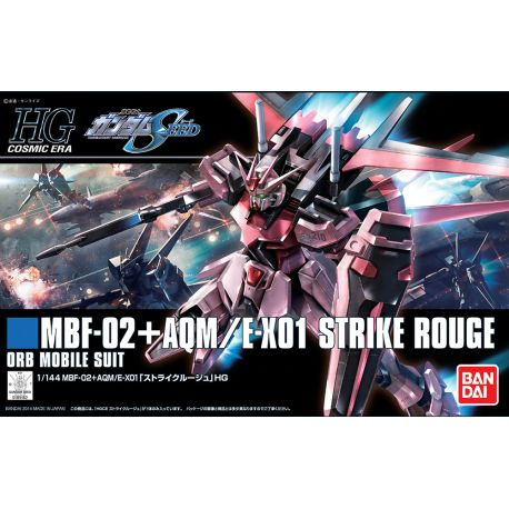 BANDAI 34124 HGCE STRIKE ROUGE 1/144 HIGH GRADE COSMIC ERA