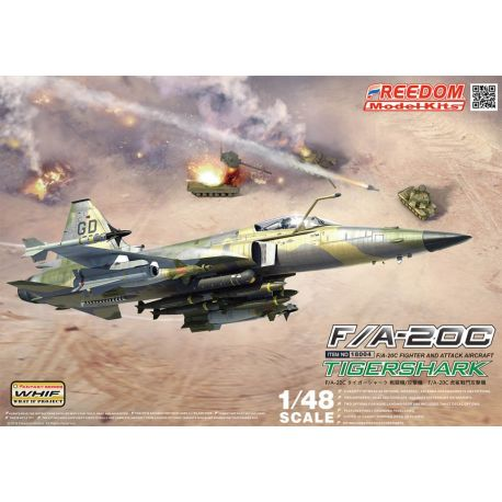 Freedom Models 18004 FA-20A/C TIGER SHARK / AG WEAPONS 1/48