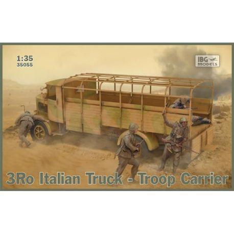 IBG MODEL 35053 3Ro Italian Truck with 100/17 100mm Howitzer