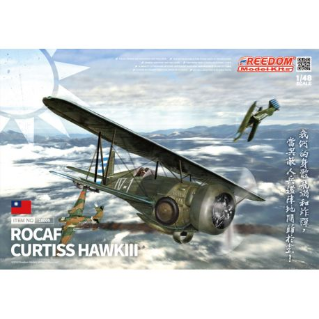 Freedom Models 18009 CURTISS HAWK III 1/48