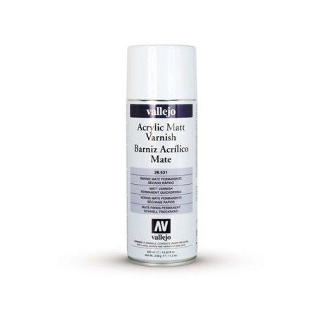 Vallejo vernice spray trasparente opaca. - bomboletta da 400 ml.