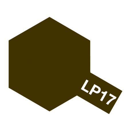 TAMIYA LP-17 FLAT LINOLEUM DECK BROWN 82117