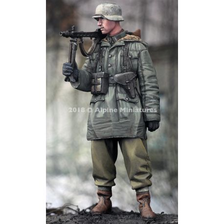 Alpine Miniatures 35256 WSS MG Gunner at Kharkov