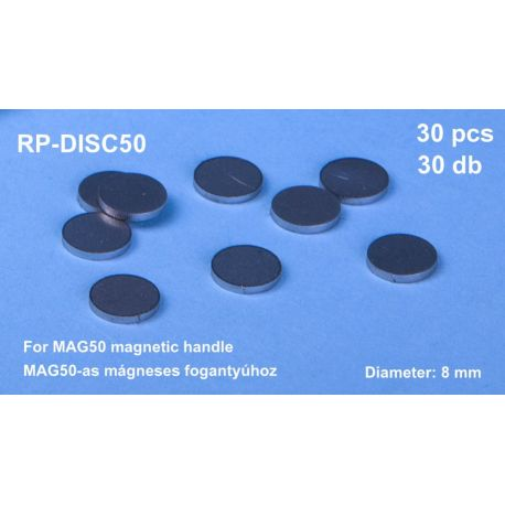 RP TOOLZ- 10 mm steel discs 30 pcs