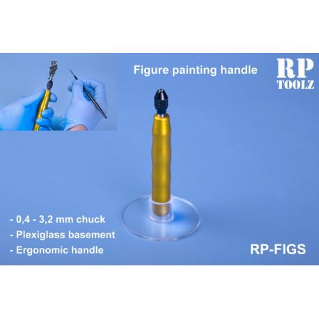 RP TOOLZ- Figure paiting handle with acrylic basement
