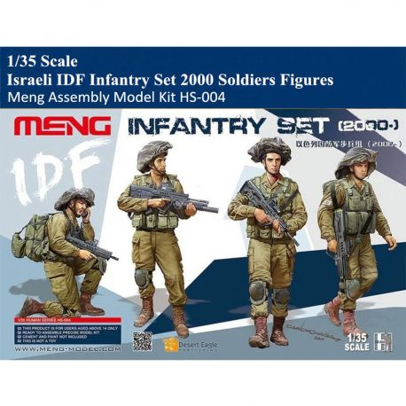 MENG MODEL HS-004 IDF Infantry Set 1/35