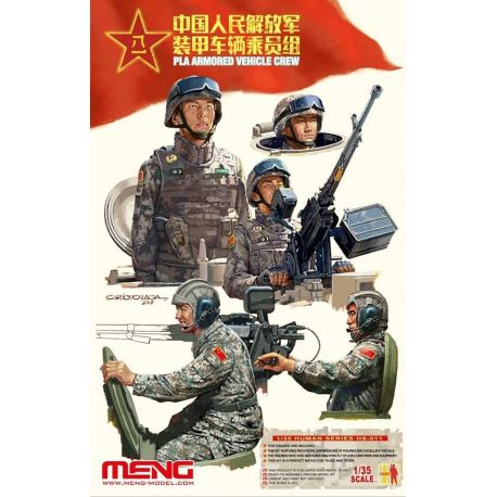 MENG MODEL HS-011 PLA Armored Vehicle Crew 1/35