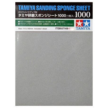 Tamiya 87149 sanding sponge sheet 1000